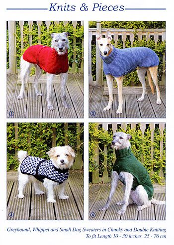 Dog Coats | Knits and Pieces - Dog Coats and Toy Knitting Patterns