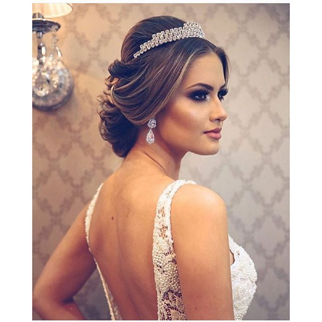 penteados de noiva com tiara - Pesquisa Google
