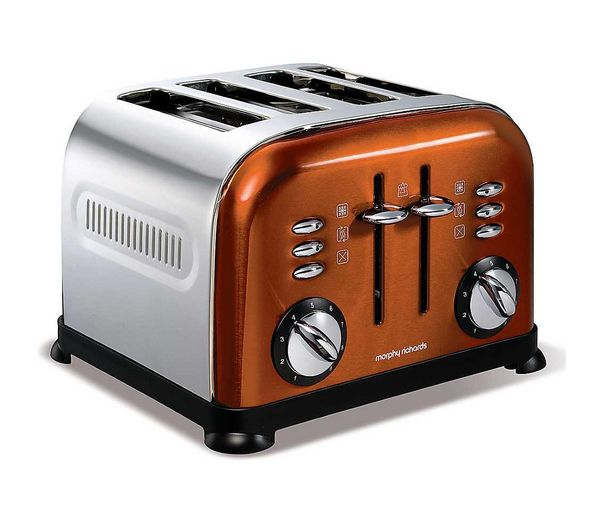 Buy MORPHY RICHARDS Accents 44744 4-Slice Toaster