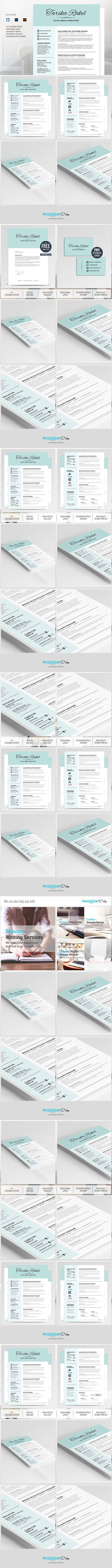 Resume Template Free Cover Letter Creative Business Card