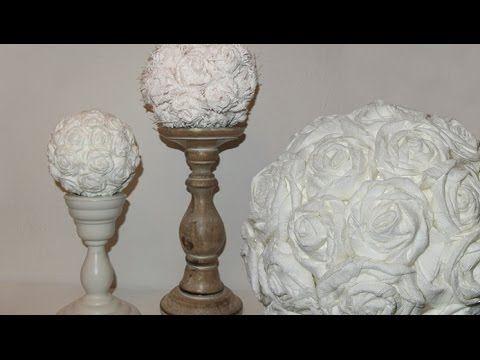 diy deko rosen aus stoff im shabby chic stil deko kitchen youtube shabby chic selber. Black Bedroom Furniture Sets. Home Design Ideas