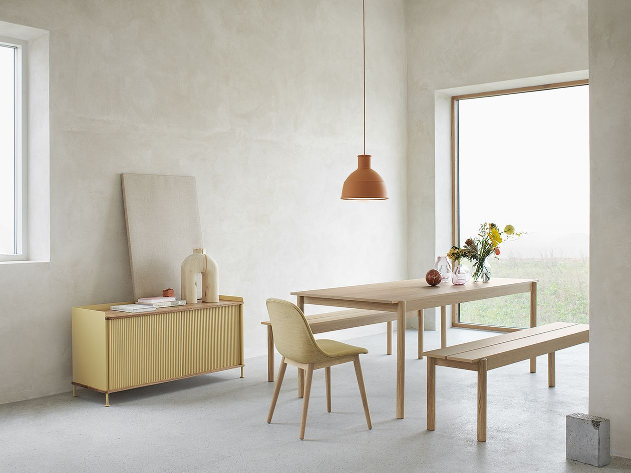 The Finnish Design Shop Team Checked Out The New Products At The Largest Design Event In Europe The Salone D Minimalist Furniture Wood Dining Table Home Decor