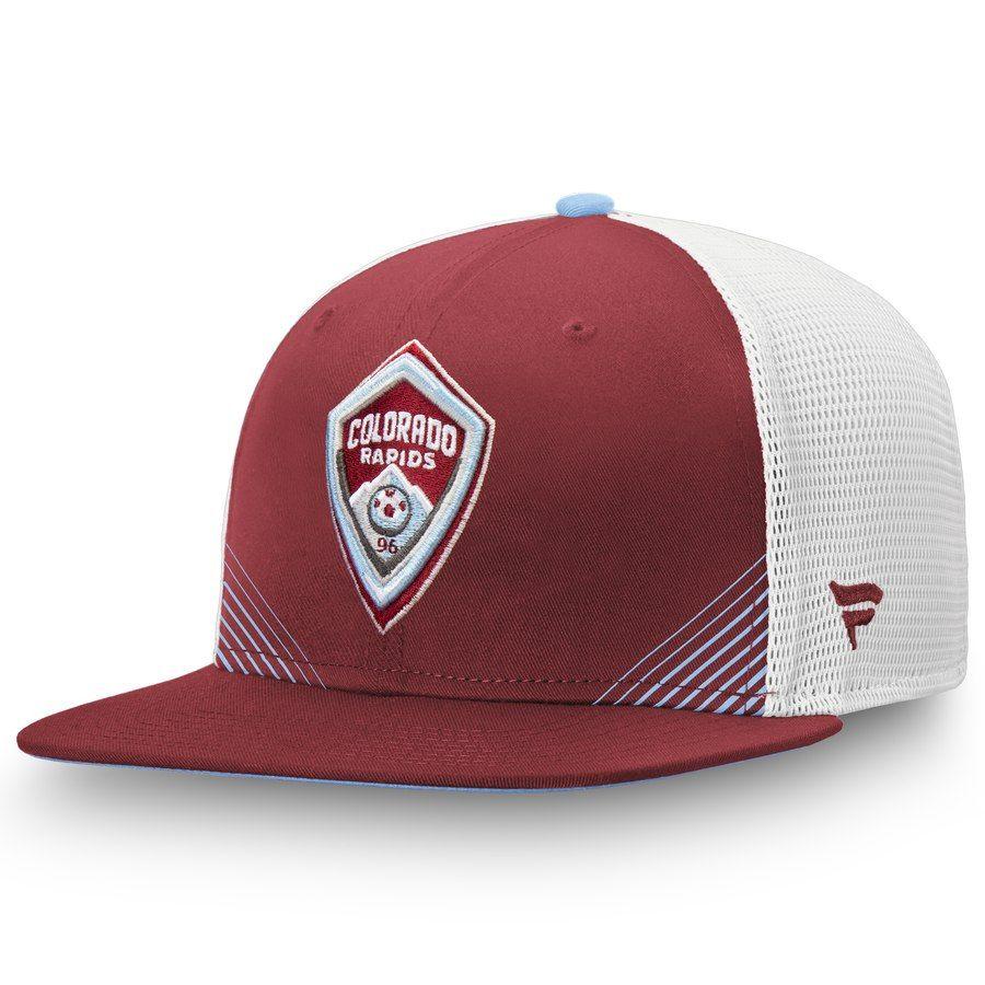 new concept 56316 ed0f7 Men s Colorado Rapids Fanatics Branded Burgundy White Iconic Adjustable  Snapback Hat, Your Price