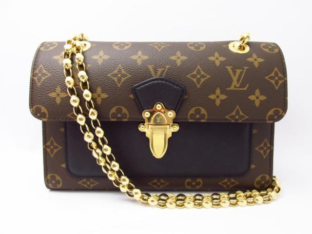 d35a377efe0b LOUIS VUITTON Monogram Victoire Shoulder Bag Monogram Noir M41730 ...