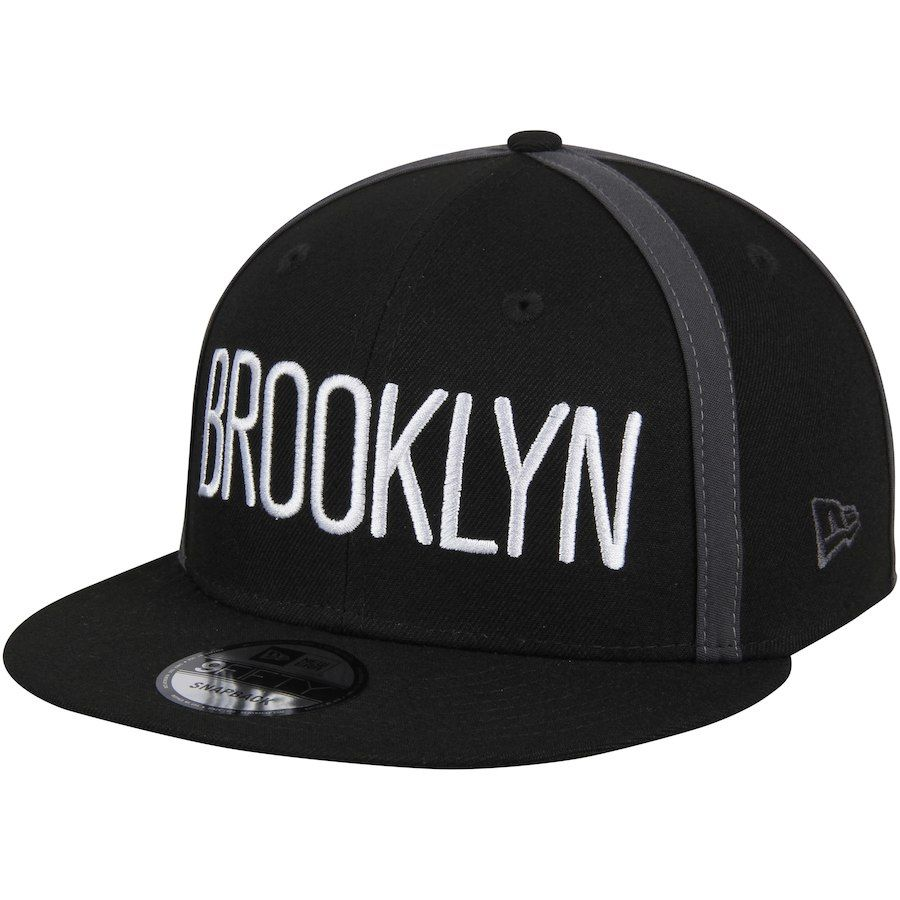 low priced 81066 0c513 Men s Brooklyn Nets New Era Black Y2K X Seam 9FIFTY Adjustable Snapback Hat,  Your Price   29.99