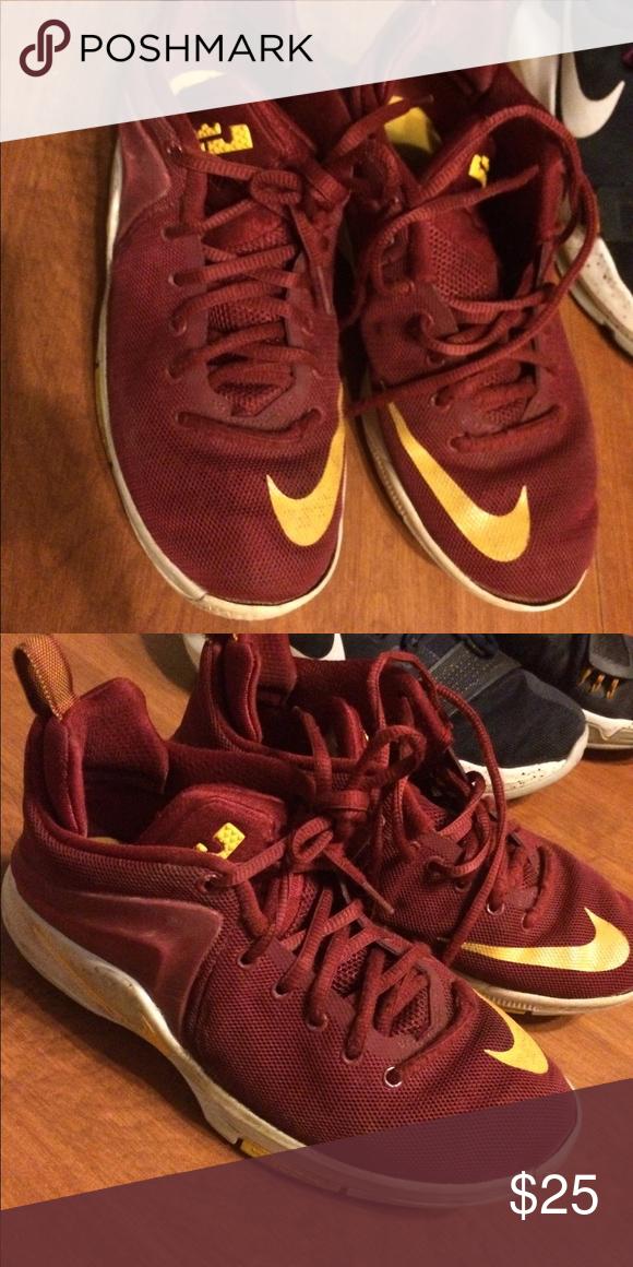 aeafac679198 Youth Lebron Nike Used size 6 youth Lebron Nike basketball shoes Nike Shoes  Sneakers