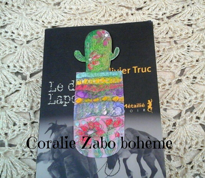 Marque Page Peint A La Main Cactus Boheme Boutique Shop