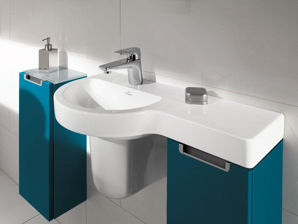 Villeroy Boch Subway 2 0 With Petrol Blue Furniture Wash Basin Sink Bathroom Planner