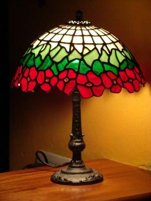 Elementos de dise o art noveau l mpara tiffany es com n for Imitacion replica lamparas diseno