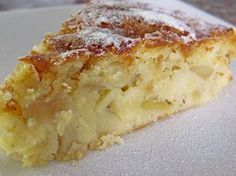 Photo of Apple – cream cheese – sponge cake