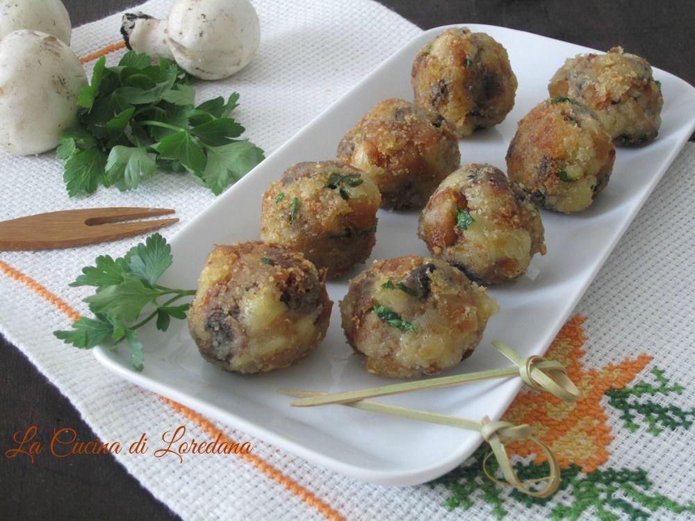 Queste deliziose Polpette di Funghi sono semplici e veloci da preparare, da cuocere in forno o friggere per la gioia anche dei piccoli di casa