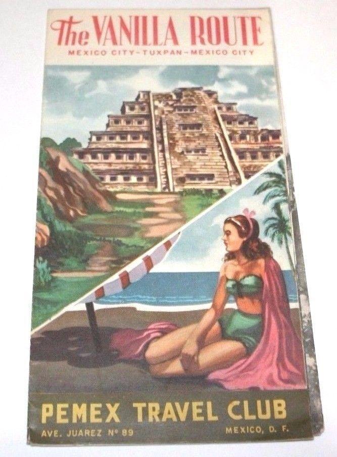 Pemex Travel Club Vintage Mexico City Vanilla Route Photos Gas