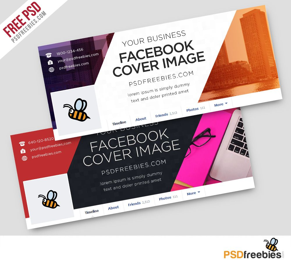 Corporate-Facebook-Covers-Free-PSD-Template | - for photoshop ...