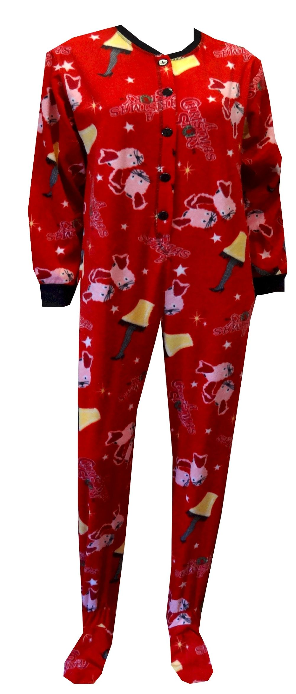 A Christmas Story Red Onesie Footie Pajama These are the jammies ...