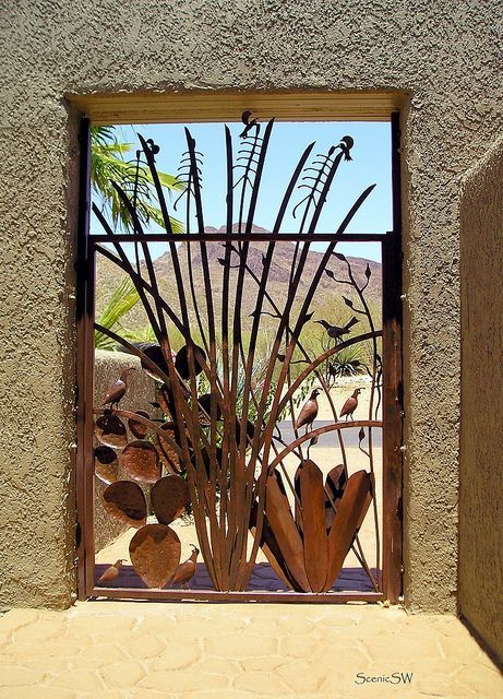 Pin By Tucson Dreams On Tucson Gates With Images Gate