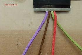 Bisuteriaycia: Paso a paso trenza de 4 cabos