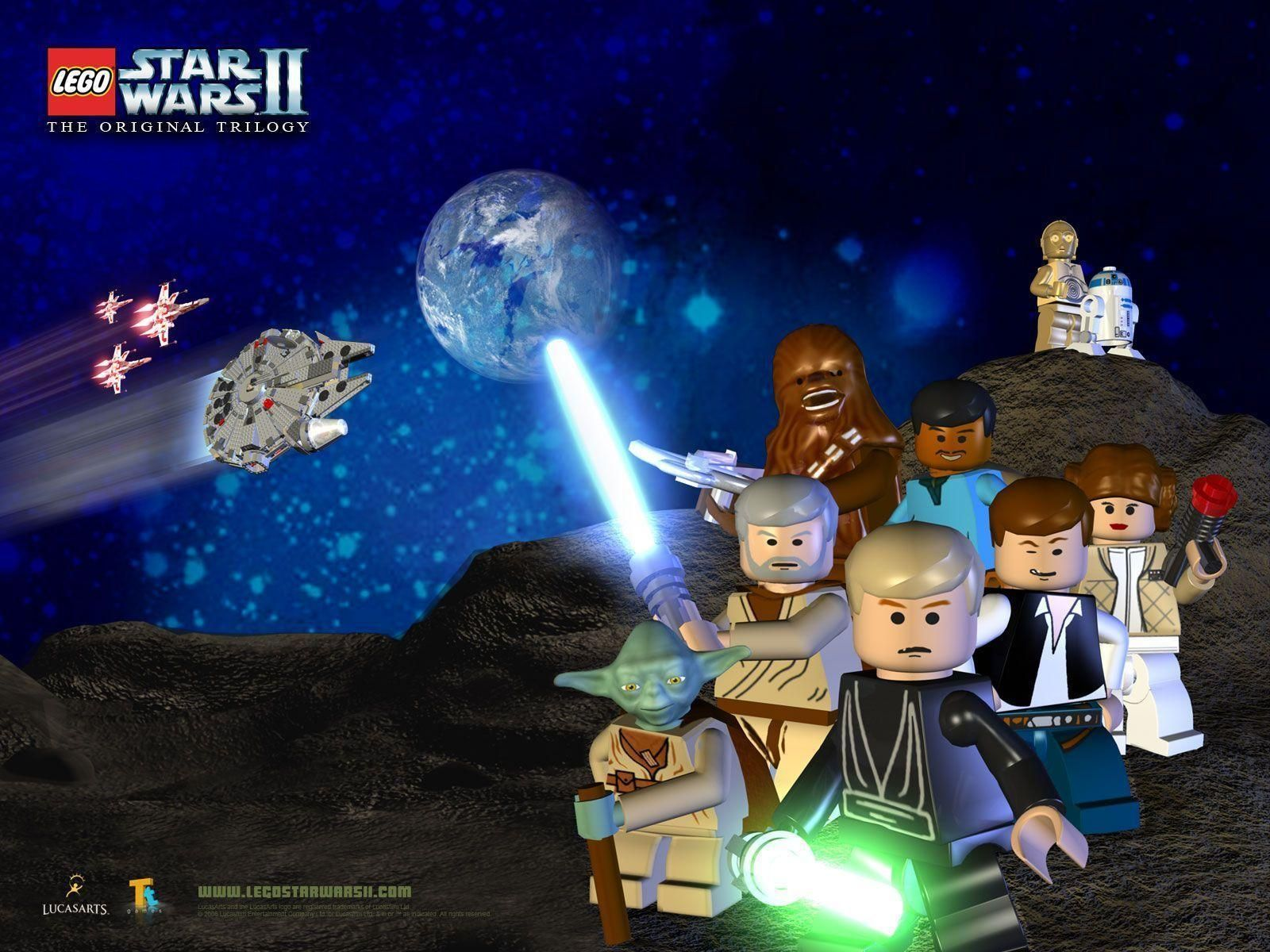 Image Result For Lego Star Wars The Original Trilogy Lego Star Wars Star Wars Wallpaper Star Wars Characters