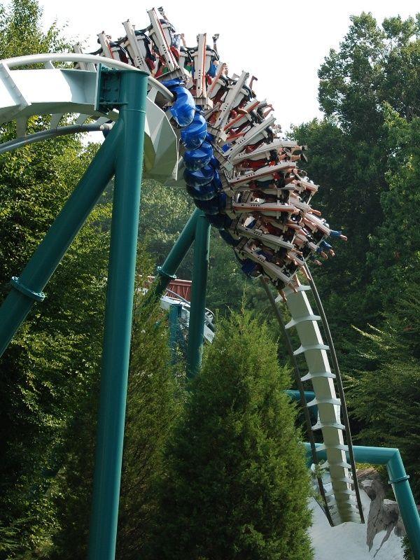 Alpengeist Busch Gardens Williamsburg Virginia