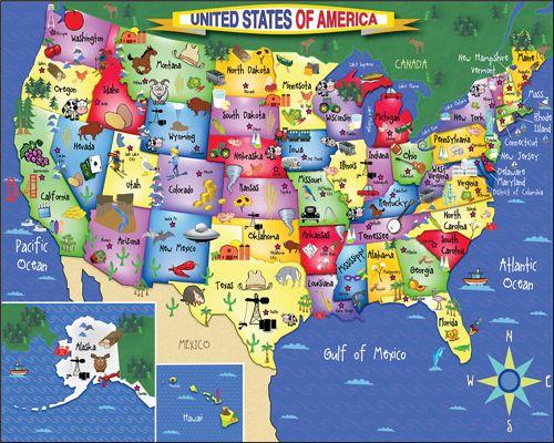United States of America - 300 Pieces - NEW EZ Grip --White Mountain ...