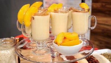 Sunny Anderson's Peach Horchata