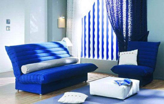 White And Blue Furniture Decor Accessories