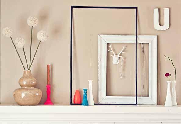 DIY Plaster Monogram; Contemporary Home Décor; Photo By