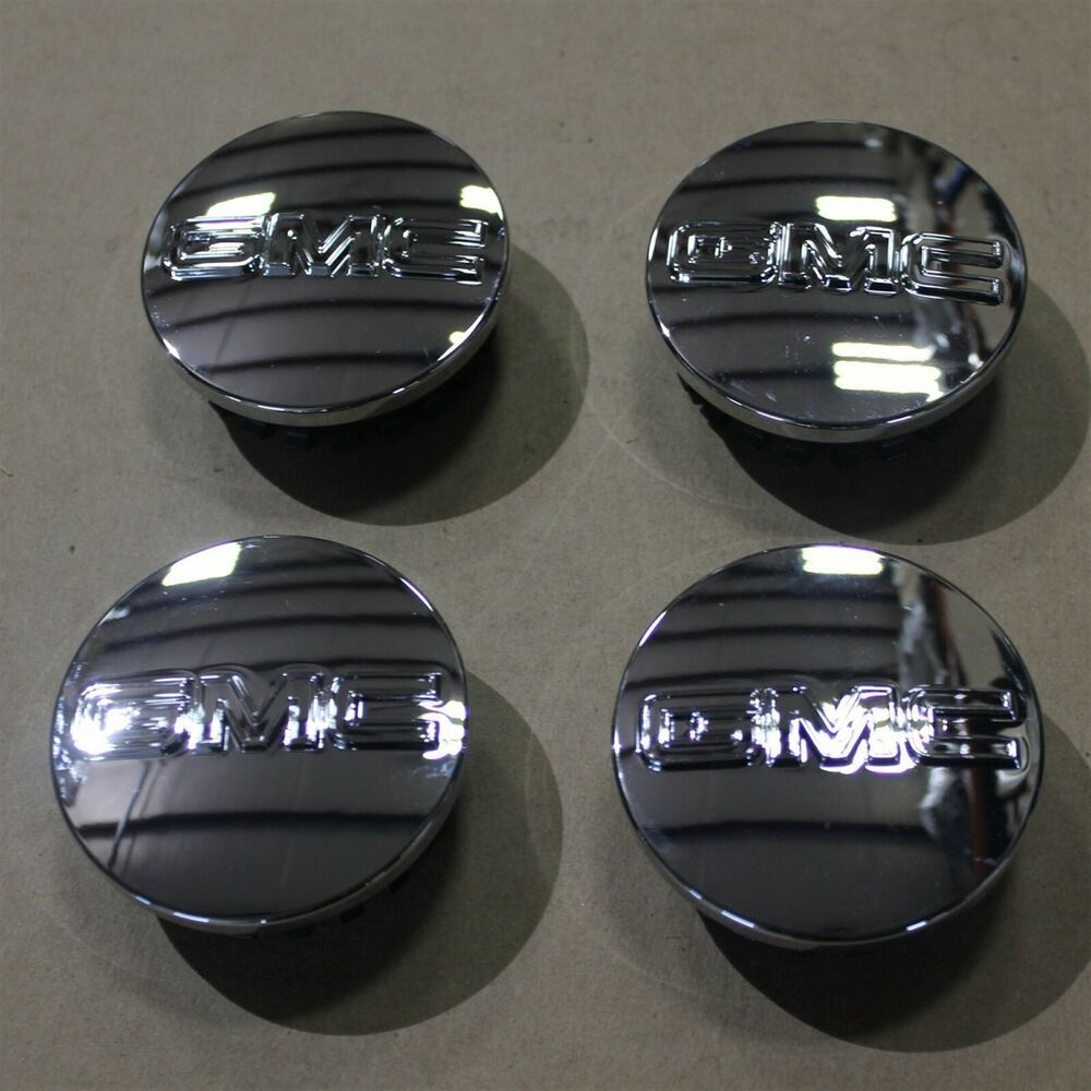Ad Ebay Oem Chrome Center Hub Caps Set Of 4 W Logo Gmc 10 19