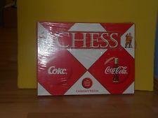 COCA COLA CHESS BOARD GAME