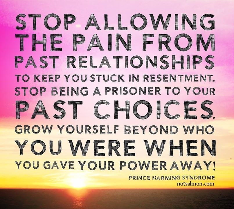 Stop Allowing The Pain From Past Relationships To Keep You Stuck In