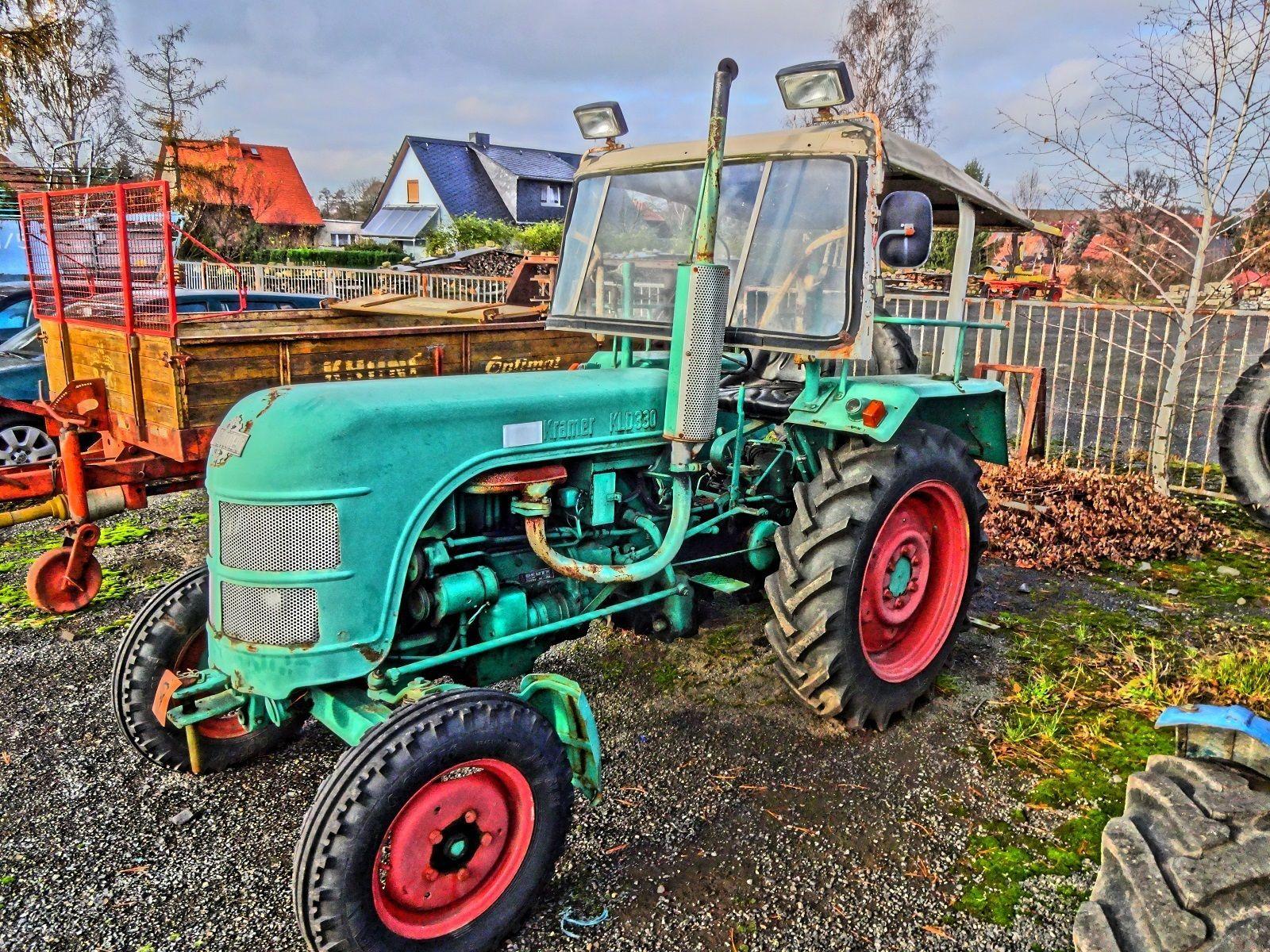 traktor kramer deutz kld 330 lader hecklader schlepper mit. Black Bedroom Furniture Sets. Home Design Ideas