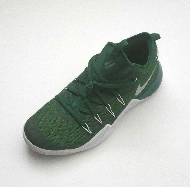 36f436a5dbe2 Nike Men Zoom Hypershift TB Promo Basketball Shoes Green White Size ...