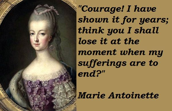 How can I write a good thesis on an essay about Marie Antoinette?