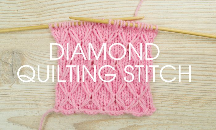 A new week, a new stitch! Give the diamond quilting stitch a go with this week's Something for the Weekend instalment! The use of slipped stitches that are carried over a number of rows goes great with this stitch. Combined with yarn overs and basic knit and purl stitches this easy-to-knit pattern gives a great quilted look to …