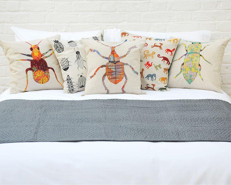 Soft furnishings black white beetle futon company for Soft furnishings online