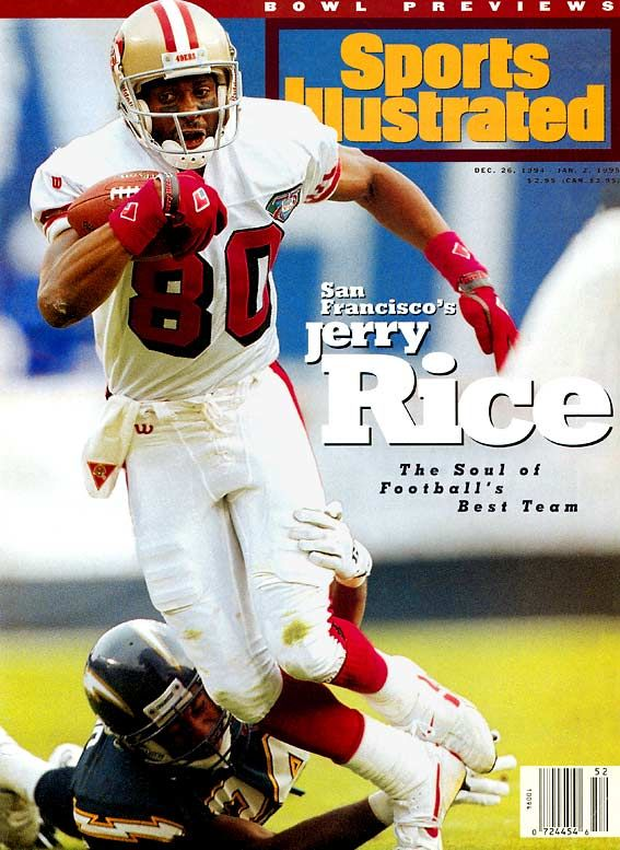 78edef9a66c jerry rice | 80 - Jerry Rice - Best NFL Player by Jersey Number: 50-99 -  Photos .