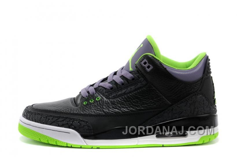 big sale 9021d c44f6 ... coupon for buy air jordan retro 3 joker black electric green canyon purple  white for sale