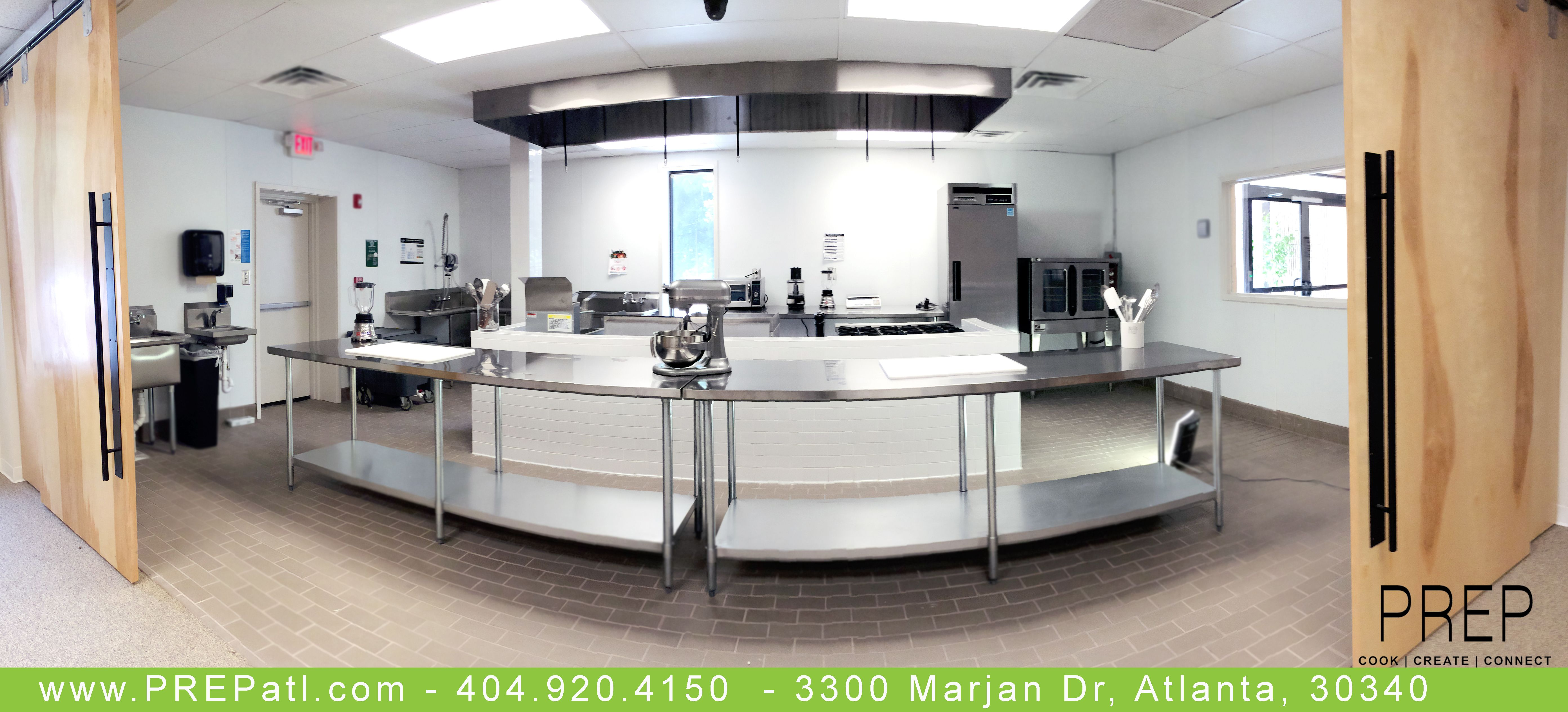 Shared Kitchen In Atlanta By Prep Www Prepatl Com 404 920 4150 Sharedkitchen Foodtruck Whatscooking Commercial Kitchen For Rent Commercial Kitchen Home