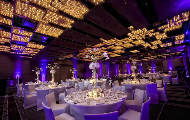 Lavender Uplighting At The W Hotel South Beach Scene 1