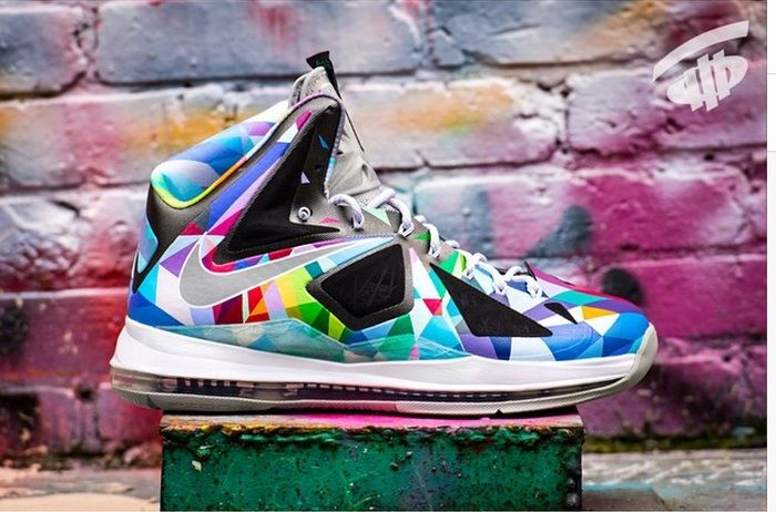 fb8f5fe9fdf Check out this dope custom edition of the Nike Lebron 1o dubbed the