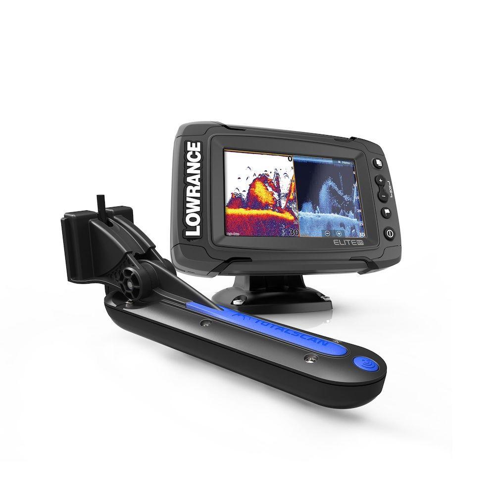 Elite-5 Ti With TotalScan Transducer | Fishfinder
