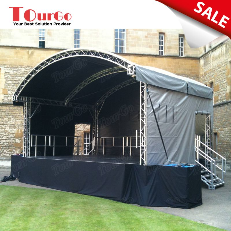2018 Performance Stage Rental with Collapsible Stage Platform u0026 Stage Tent on Sale & 2018 Performance Stage Rental with Collapsible Stage Platform ...