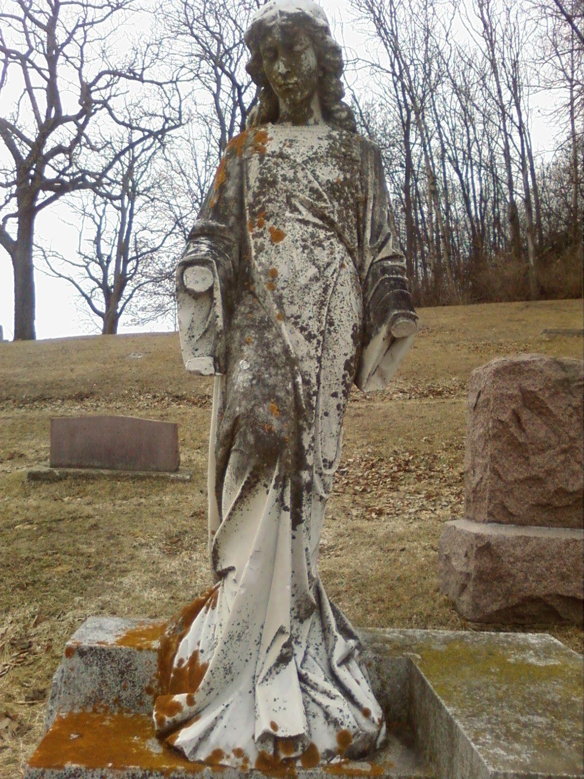 Turkey Road Graveyard Angel