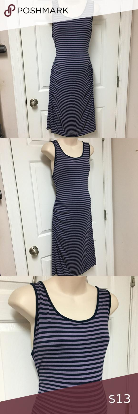 Liz Lange Maternity Purple Blue Striped Bodycon L Cute Body Con Dress Size Large Knee Length Liz Lange For Target Dress Liz Lange Blue And Purple Blue Stripes [ 1740 x 580 Pixel ]