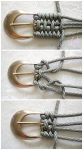 Photo of Macrame Derweesh Paracord Belt DIY Tutorial – #anleitung #Derweesh #DIY # Gü …