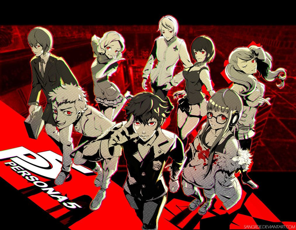 Persona 5 Wallpaper by Sangrde on DeviantArt