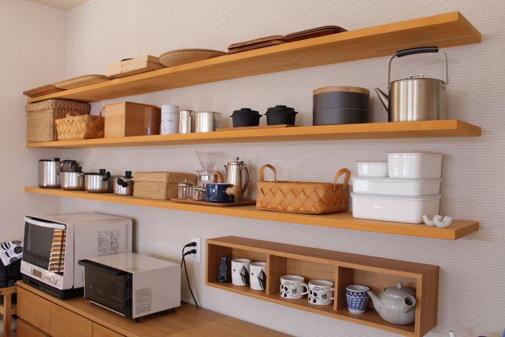 キッチンのオープン棚とその歴史 Ducks Home 楽天ブログ オープン棚 キッチン 棚