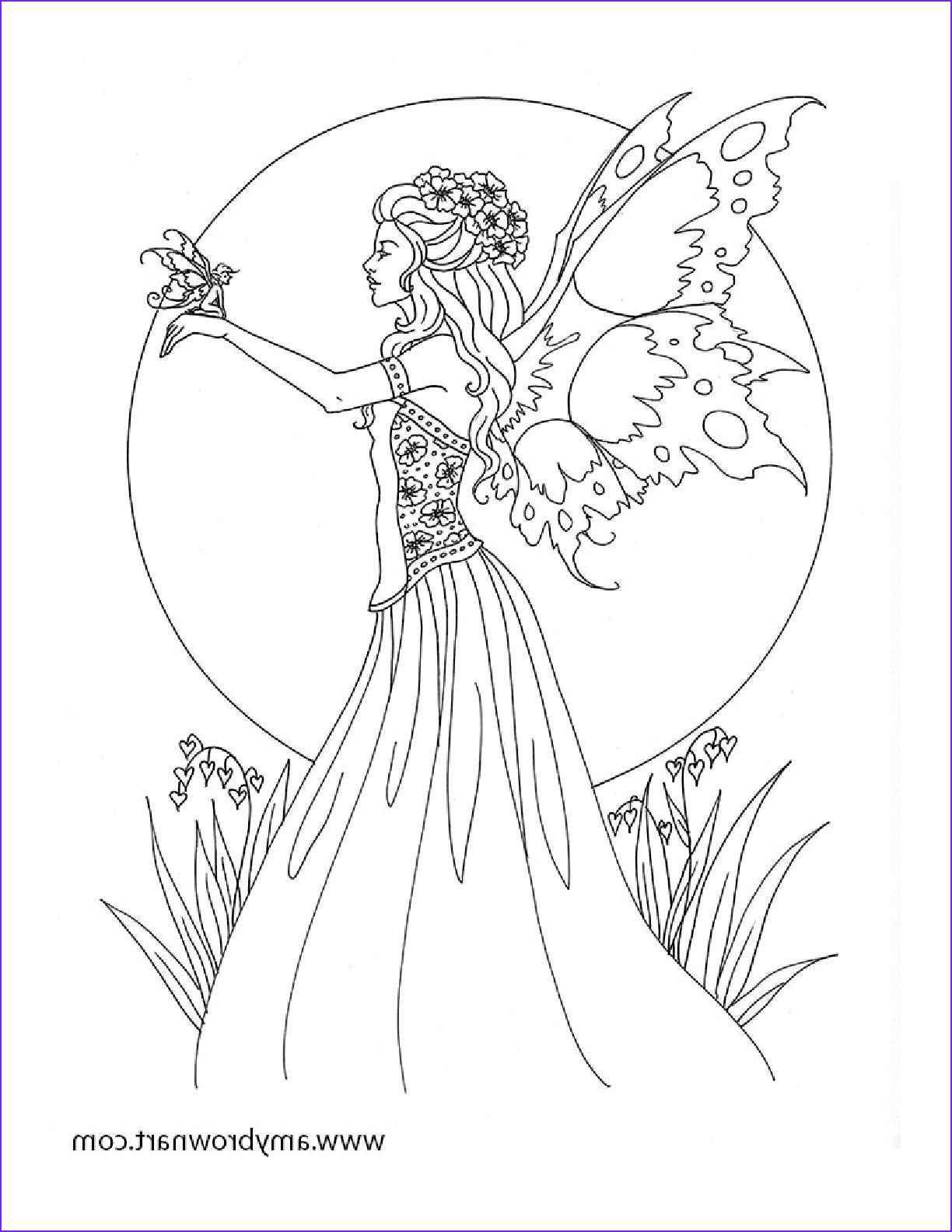 Amy Brown Fairy Coloring Book Fairy Myth Mythical Mystical In 2020 Fairy Coloring Pages Fairy Coloring Fairy Coloring Book