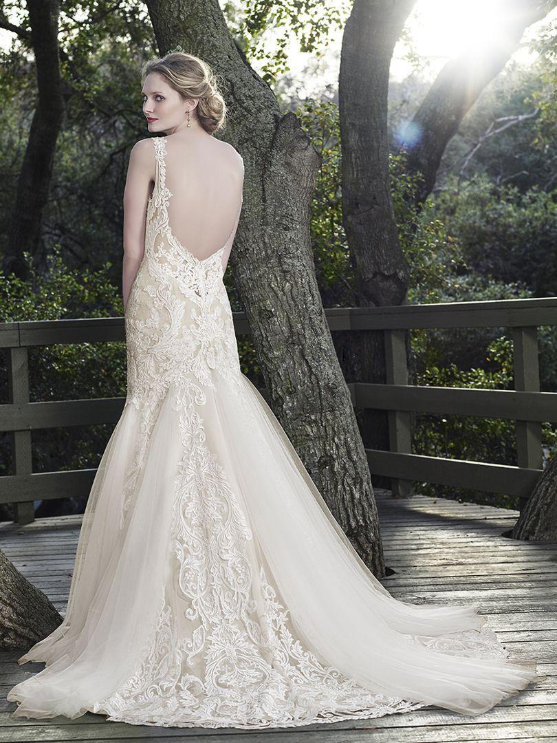 Style 2256 Sage Casablanca Bridal Chantilly Lace
