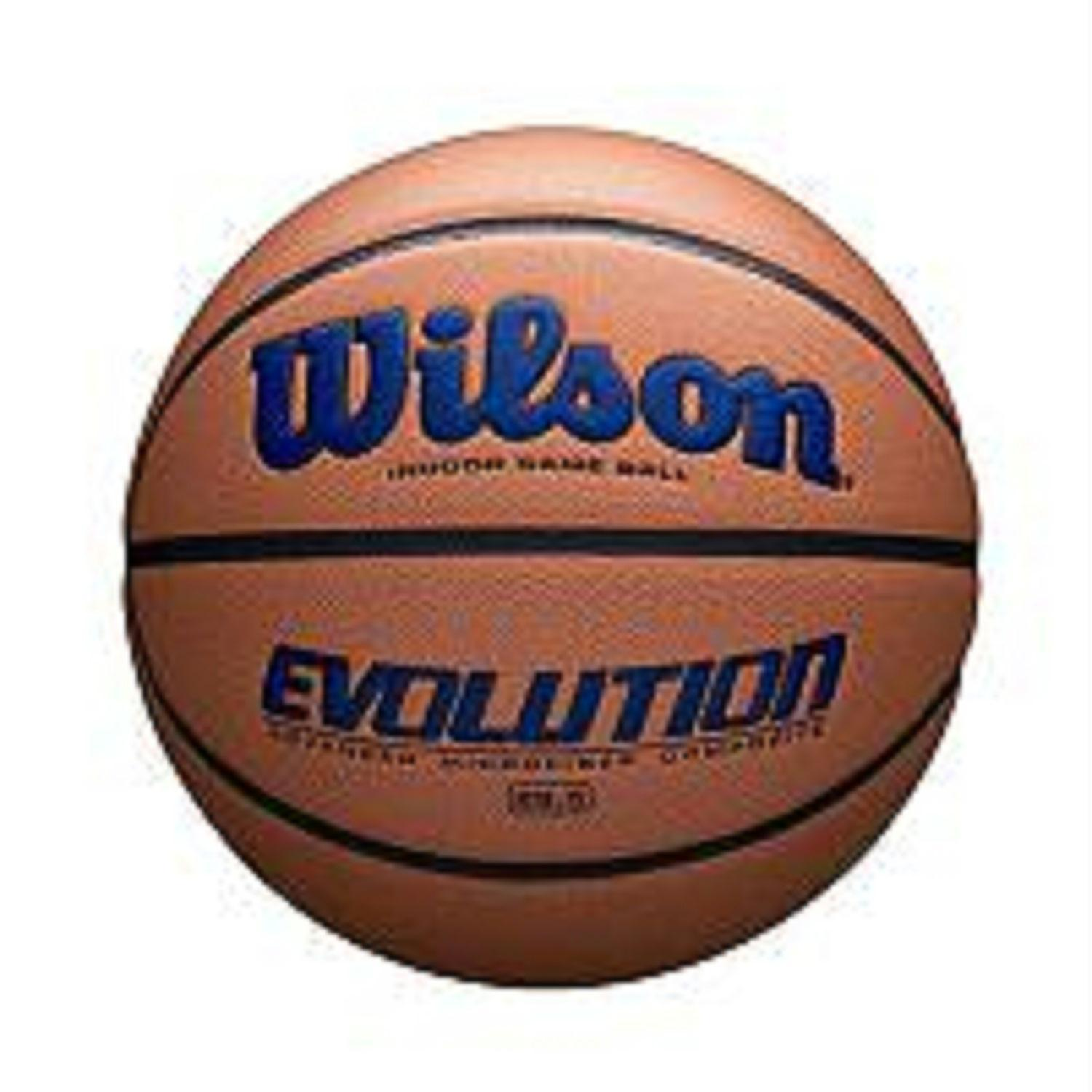 Wilson Evolution Intermediate Size Game Basketball Navy Basketball Sports Basketball Indoor Basketball Hoop