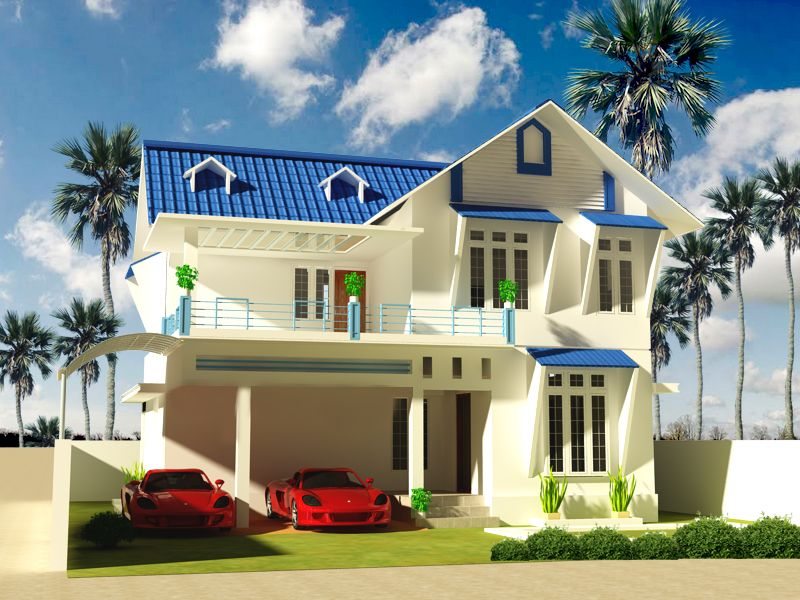 Kerala Model Home Plans Presents Victorian Style Semi Luxury Homes At Construction Cost 1850 00 Per Sq Ft Your Model Homes Philippine Houses House Plans